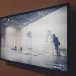 展示スペースの内装