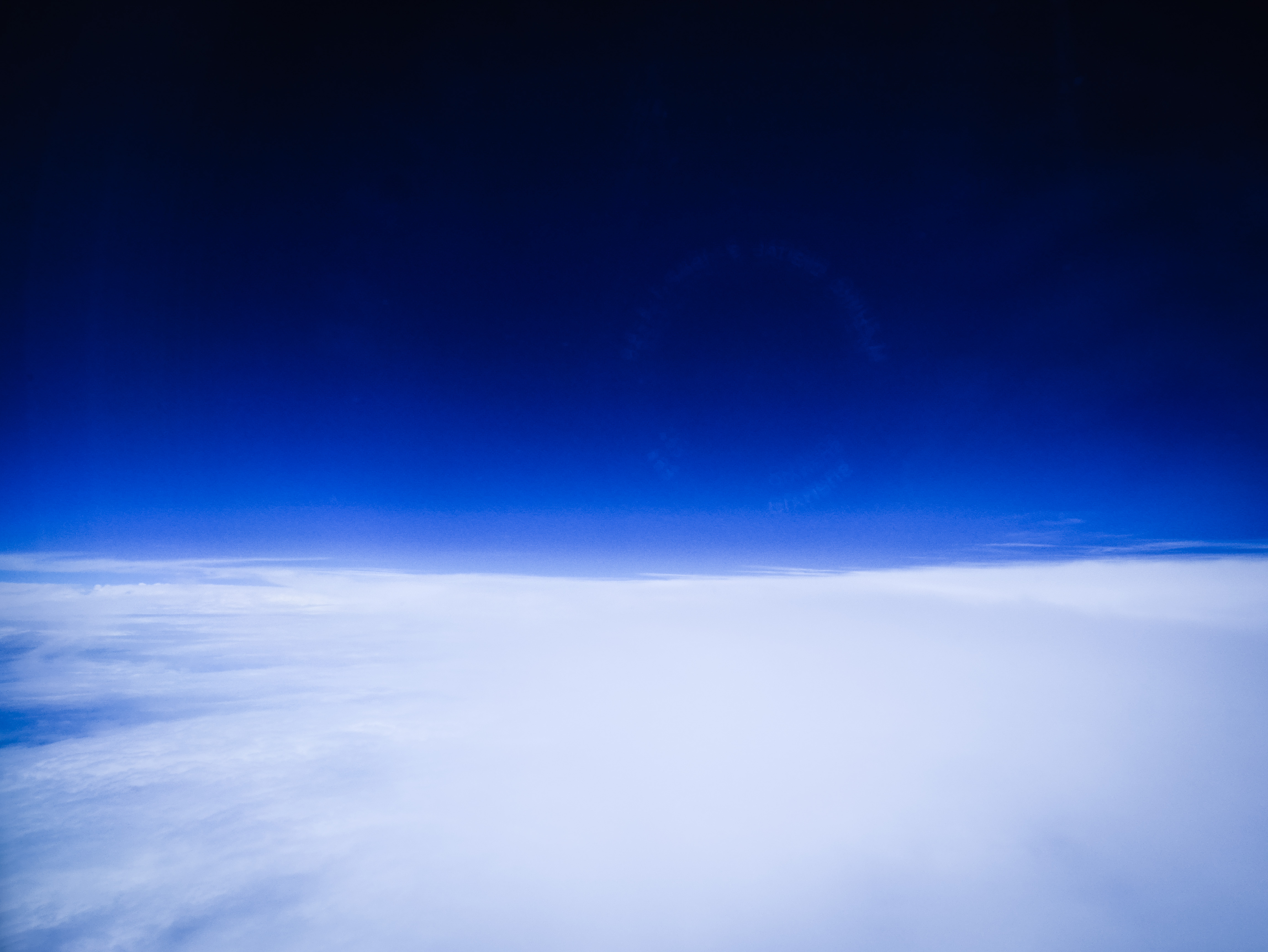 sea of cloud in to the blue